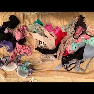 Victoria's Secret, Gap etc 30 pairs total